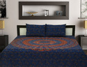 Cotton Double Bed Sheets With Pillow Covers
