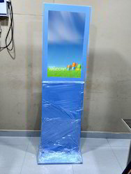 Horizontal Floor Standing Touch Screen Advertising Display