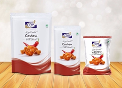 GEMS Dry Roasted Salted Red Chilli Cashew, Packing Size: 200 Gm
