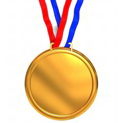 Gold Medals, Shape: Custom Shape