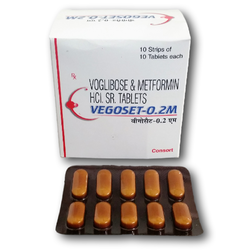 VEGOSET-0.2 M (Voglibose Tablets )