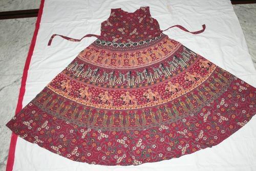 769cc15d4 Jaipuri Frocks Rajasthani Print Dress at Rs 210  piece