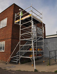 Cantilever Mobile Aluminum Scaffold Tower