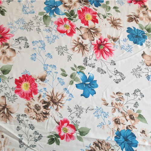 Cotton Multicolor Printed Bed Sheet