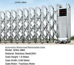 Automatic Motorized Retractable Gate (OFRG-340A)