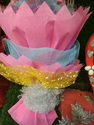 Plastic Flower Bouquet