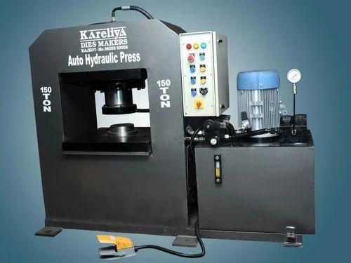 Hydraulic Coin Press Machine - 150 Ton Hydraulic Coin Press