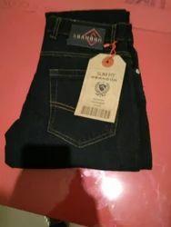 Black Blue Green Denim Jeans