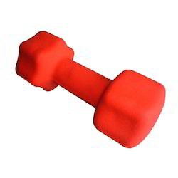 Fixed Weight Hex Rubber Head Dumbbell
