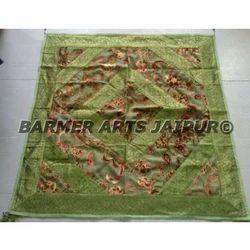 Velvet Border Table Cloth (embosse velvet)