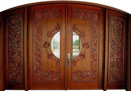 Wooden Curved Door & Wooden Curved Door | Myka Interiors | Manufacturer in Mallapur ... Pezcame.Com