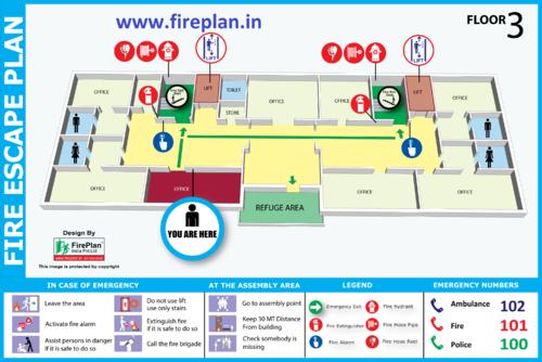 Evacuation Plan   Fire Plan India Pvt Ltd   Manufacturer in