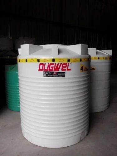 1000 Litre Roto Molded Plastic Water Storage Tank Capacity 500 1000 L Id 13636682791