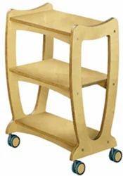 Wooden Spa Cart