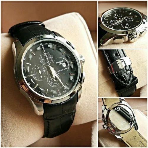 f4576fca148 Black Round Tissot Watch