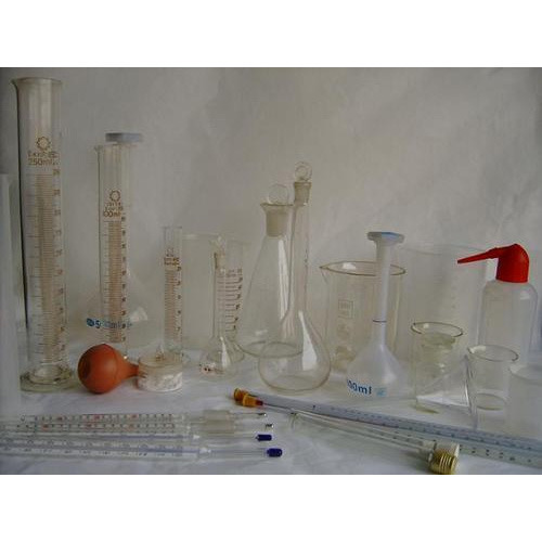 Laboratory Titration Flask