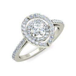 Gli Certified Natural Diamonds Solitaire Rings