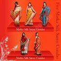 Five Matka Silk Saree Combo