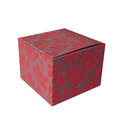 Square Multicoloured Corrugated Paper Box