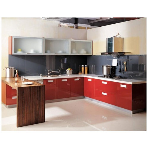 Contemporary Modular Kitchen, 8 Square Modular Kitchens