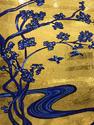 Hand Cut in 24 Crt Gold Mosaic