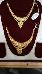 Karekar Jewellers Yellow Gold 22 Carat Gold Necklace