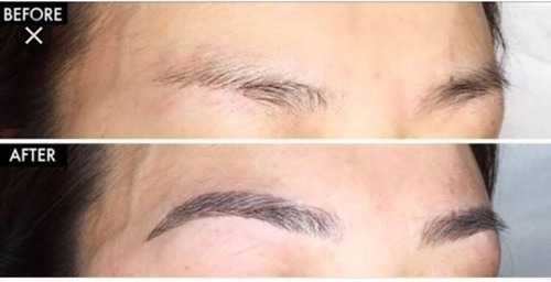 Microblading For Permanent Eyebrows, Eyeliner And Kajal in