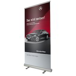 Roll Up Banner Standee, For Promation