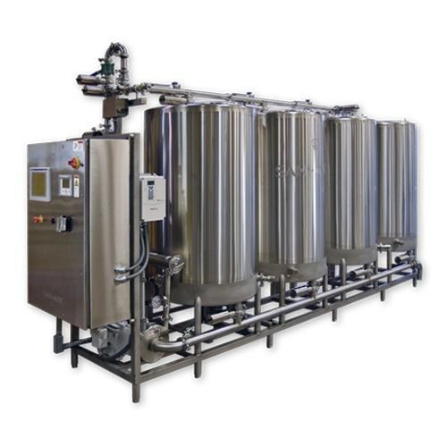CIP System for Dairy