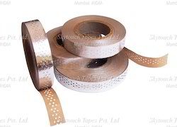 Aluminum Foil Perforated/ Insulating Kraft Paper Laminated Rolls  21 Mm Width