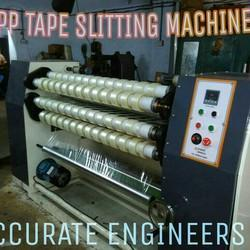 BOPP Tape Slitting Machine with Core Cutter and Core Loader