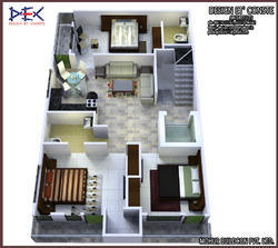 home design consultants home design consultancy services single floor contemporary indian home design in 1350 sqft