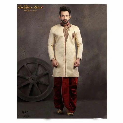 7eb6b1d7c7 Mens Sherwani - Designer Mens Sherwani Manufacturer from Mumbai
