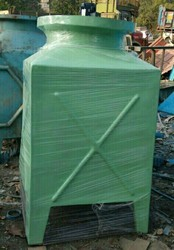 20/25 Tr FRP Induced Draft Water Tower Size 1015x1015x2000 mm