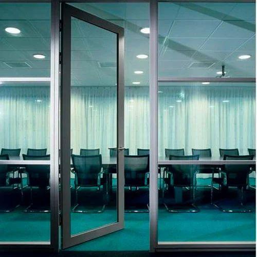 Customized Automatic Glass Door Rs 102000 Piece Tushar Enterprise