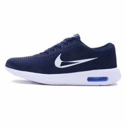 Nike Navy Blue Mens Running Shoes, Size: 7