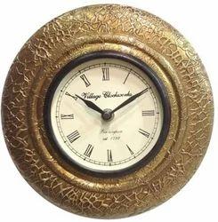 Wooden Wall Clock In Gurgaon लकड़ी की दीवार घड़ी