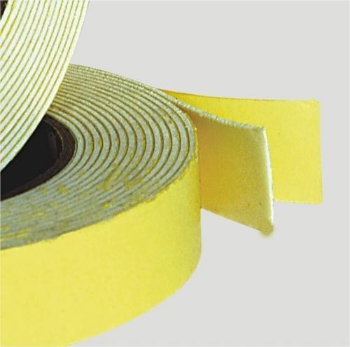 Cream Strong Double Sided Foam Tape, for For Double Side Pasting
