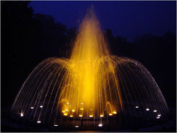 Musical Fountain Crown Effect