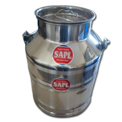 SAPL Stainless Steel Milk Canister