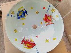 Glass Bowl Size 16x16