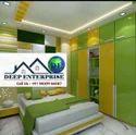 Bed Room Gypsum False Ceiling