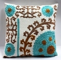 Suzani Embroidered Pillow Covers