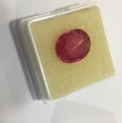 Red Natural Ruby Stone