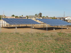 Ground Mounting Solar Structure