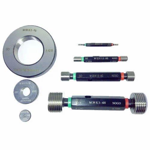 UK Supplier gage Go /& NoGo 1//4 BSP Right Hand Thread Plug Gauge