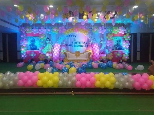 Birthday Decorations In Ranchi Ag Colony By Prakash Ballon