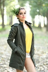 Ladies Hooded Coat