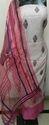 Printed Chanderi Suits Dress Material