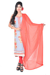 Georgette Embroidered Salwar Suit